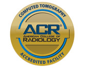 American College of Radiology Accredited Facility CT